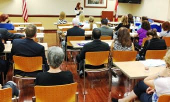 Stephanie speaking at Memorial Hospital Pembroke- April 16th, National Healthcare Decisions Day