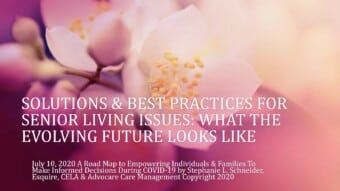 Solutions & Best Practices to Senior Living Issues