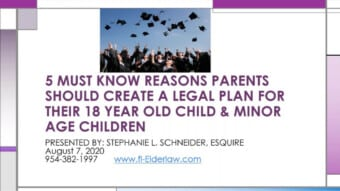 5 Must Know Reasons Parents Should Create a Plan for Children