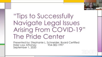 Tips to Successfully Navigate Legal Issues Arising From COVID-19 – The Pride Center