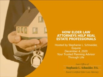 How Elder Law Attorneys Help Real Estate Professionals
